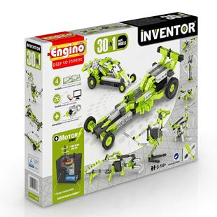 Engino Inventor 30 in 1 Motorised Models Set