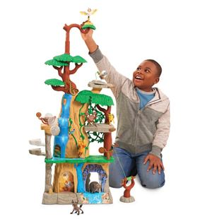 Lion Guard Training Lair Play Set and 2 Figures