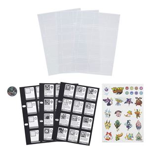 Yo-kai Watch Yo-kai Medallium Collection Book Refill Pages