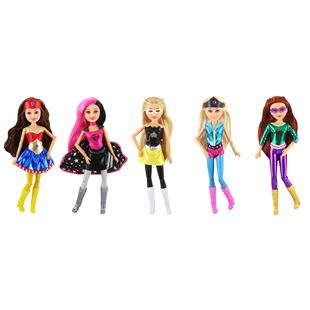Sparkle Girlz Super Power Dolls 5 pack