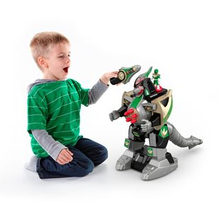 Imaginext Power Rangers Green Ranger & Dragonzord Remote Control
