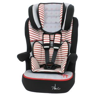 Imax Bonjour Red Group 1-2-3 Car Seat