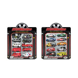 10 pack Die-cast Playset - Assortment