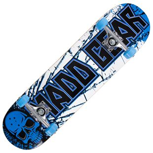 Madd Gear PRO Skateboard - Cracked Blue / Black