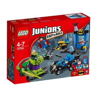LEGO Juniors DC Comics Super Heroes Batman & Superman vs. Lex Luthor 10724