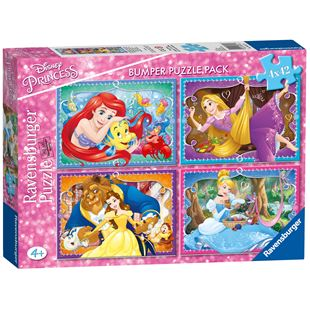 Disney Princess Bumper Puzzle Pack