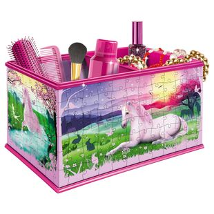 Ravensburger My 3D Boutique - Unicorns Vanity Box, 216pc 3D Jigsaw Puzzle