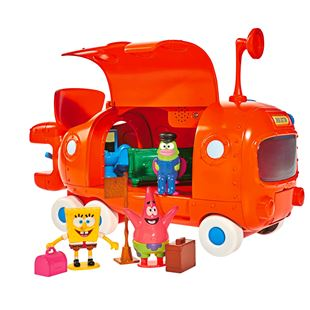 SpongeBob Submarine School Bus Playset