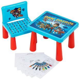 Paw Patrol Sit and Colour Table