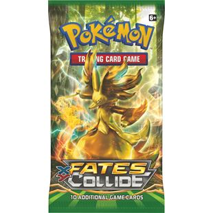Pokémon XY10 Fates Collide Boosters - Assortment