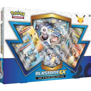 Pokémon TCG: Red & Blue Collection–Blastoise-EX