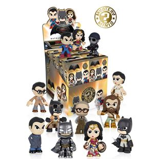 Mystery Minis: Batman Vs Superman Figures - Assortment