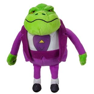 Danger Mouse Small Baron Greenback Plush with Sound