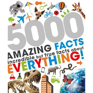 5000 Awesome Facts Book