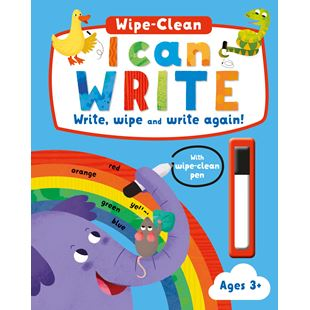 Wipe-Clean I Can Write