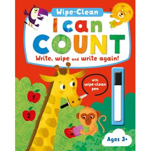 Wipe Clean Activity I Can Count