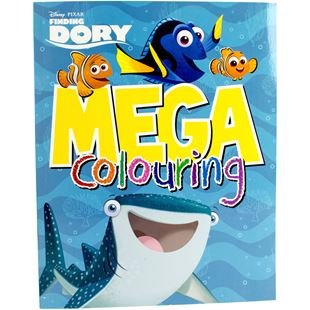 Disney Pixar Finding Dory Mega Colouring Book