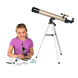 Fusion Science Deluxe Microscope and Telescope