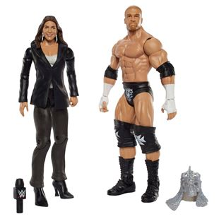 WWE Battle 2 Pack Series 42 Triple H and Stephanie Mc Mahon Figures