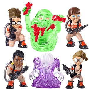 Ghostbusters Mini Figures 3 Pack - Assortment