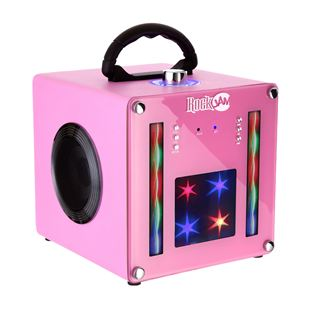 RockJam BT1106 Light Show Bluetooth Speaker - Pink