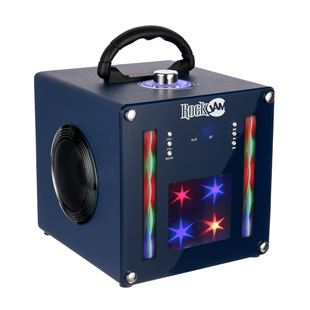 RockJam BT1106 Light Show Bluetooth Speaker - Blue