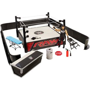 WWE Ringside Battle Playset with Kevin Owens