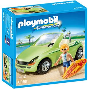 Playmobil 6069 Surfer with Convertible Car