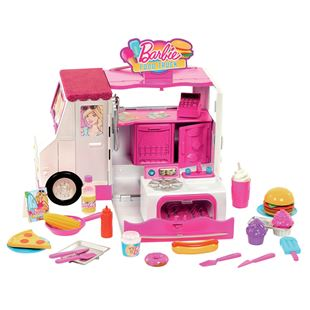 Barbie Food Truck Playset