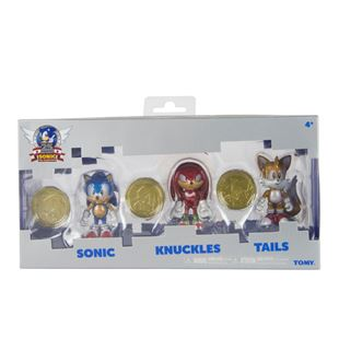"Sonic 3"" Collector Figure 3Pack w coin"