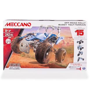 Meccano 15 Model Off-Road Rally Set