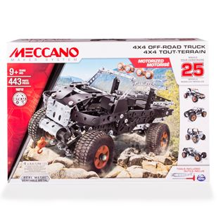 Meccano 25 Model Set 4x4 Off Road Truck