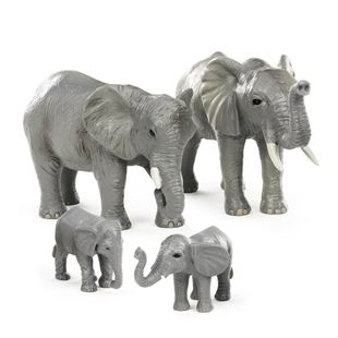 Terra 4 Piece Elephant Family