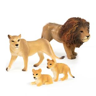 Terra 4 Piece Lion Family