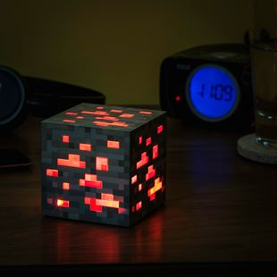 ThinkGeek Minecraft Light-Up Redstone Ore