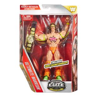 WWE Elite Collection Flashback Ultimate Warrior