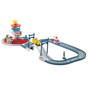 Paw Patrol Launch n' Roll Lookout Tower Track Set
