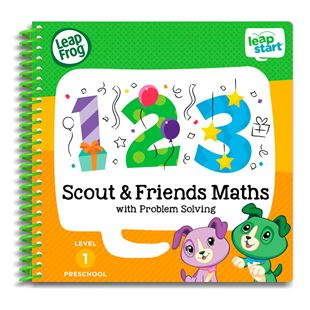 LeapFrog LeapStart Preschool Activity Book: Scout & Friends Maths and Problem Solving
