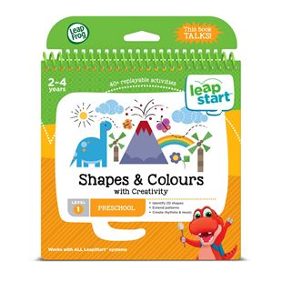 LeapFrog LeapStart Preschool Activity Book: Shapes, Colours & Creative Expression