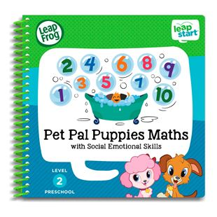 LeapStart Preschool Activity Book: Pet Pal Puppies Maths and Social Emotional Skills