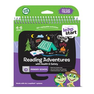 LeapFrog LeapStart Preschool Activity Book: Reading Adventures and Health & Safety