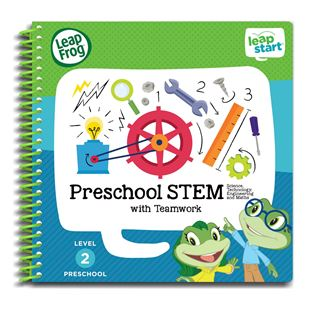 LeapFrop LeapStart Preschool Activity Book: STEM and Teamwork