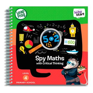 LeapFrog LeapStart Primary School Activity Book: Spy Maths and Critical Thinking