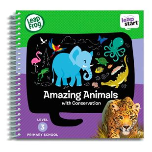 LeapFrog LeapStart Primary School Activity Book: Amazing Animals and Conservation