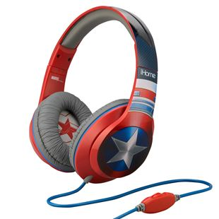 Captain America Over Ear Headphones