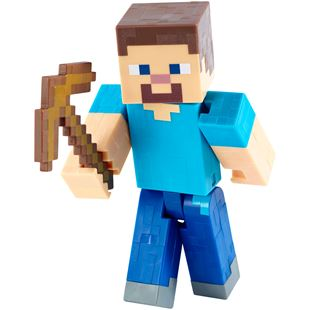 Minecraft 13cm Steve With Pickaxe