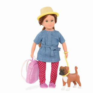 Lori Nadene Doll and Nash Pet