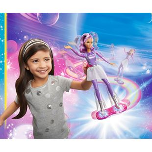 Barbie Star Light Adventure Lights and Sounds Hoverboarder