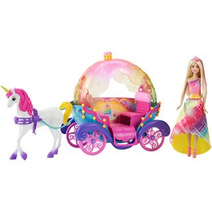 Barbie Dreamtopia Princess, Horse and Carriage