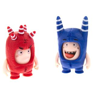 Oddbods Face Changer Figurines Assortment